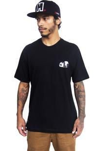 Camiseta Make Panda1 Preto