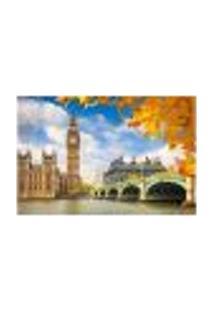 Painel Adesivo De Parede - Big Ben - Londres - 927Pnp