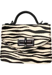 Bolsa Transversal Zebrinha Cakau Acessã³Rios - Zebra - Feminino - Dafiti