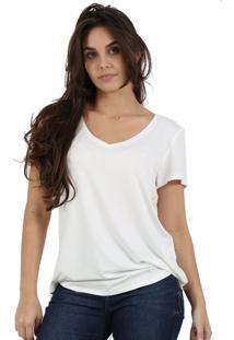 T-Shirt Its & Co Aãºstralia Off-White - Off-White - Feminino - Dafiti