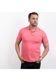 Camiseta Polo 4You Adulta Masculina - Masculino-Rosa
