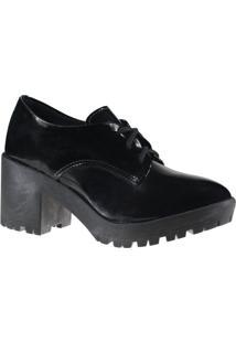 Sapato Feminino Oxford Akazzo