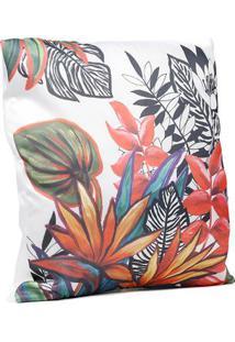 Capa Para Almofada Hedrons Branco/ Multicolorido