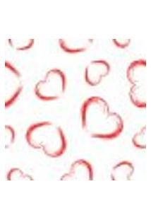 Papel De Parede Adesivo - Corações - 012Ppo