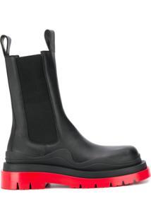 Bottega Veneta Chunky Ankle Boots - Preto