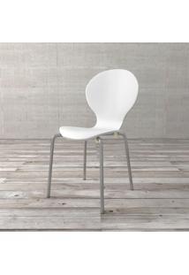 Cadeira Shell Branco Etna