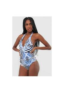 Body Acqua By Classic Savana Branco/Azul