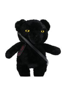 Karl Lagerfeld Bolsa Panther X Carine Roitfeld - Preto