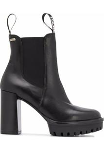 Karl Lagerfeld Ankle Boot Voyage Iv - Preto