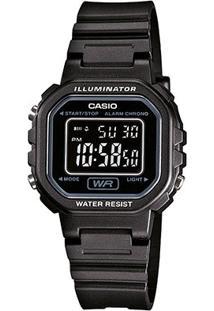 Relógio Digital Casio La-20Wh-1Bdf Feminino - Feminino