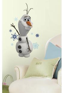 Adesivos De Parede Roommates Colorido Disney Frozen Olaf The Snow Man Peel & Sticked Decals