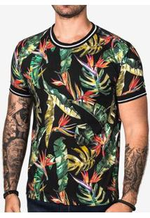Camiseta Hermoso Compadre Dark Forest Masculina - Masculino-Preto