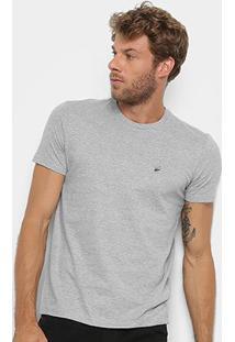 Camiseta T-Shirt Ellus Manga Curta Masculina - Masculino-Mescla