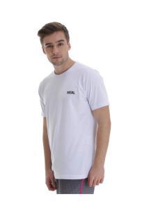 Camiseta Fatal Fashion Basic 23345 - Masculina - Branco