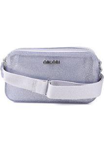 Bolsa Colcci Santorini Mini Bag Feminina - Feminino-Prata