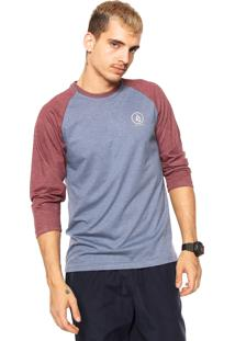 Camiseta Volcom Heather Azul