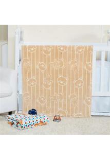 Cobertor Manta Bebe Baby Flannel Fofo - Dengo