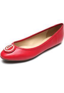 Sapatilha Dumond Logo Vermelha
