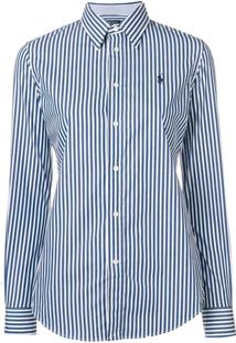 Camisa Pólo Listras Polo Ralph Lauren feminina  6bed9b8b37a96
