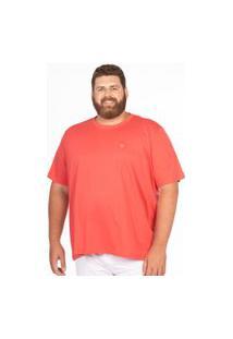 Camiseta Pima Longford Gola Careca Plus Size