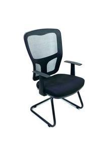 Cadeira Interlocutor Byartdesign Turim Preto