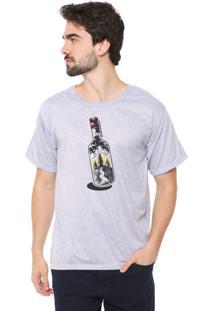Camiseta Eco Canyon Garrafa Cinza
