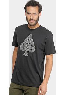 Camiseta Mcd Paisley Masculina - Masculino