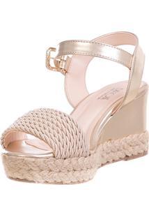 Anabela Butique De Sapatos Dourado