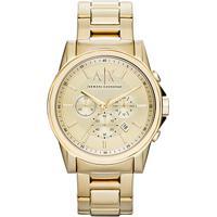 Relógio Armani Exchange Analógico Ax2099 4Dn Masculino - Masculino-Dourado e7acc4965f
