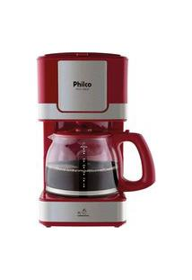 Cafeteira Philco Ph31 Inox Vermelha 110V