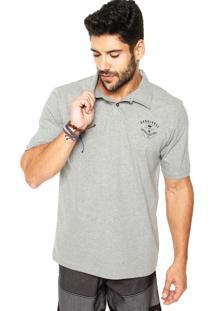 Camisa Polo Hang Loose Obsession Cinza