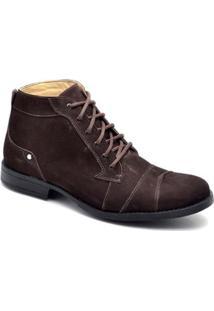 Bota Top Franca Shoes Casual - Masculino-Marrom