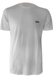 Camiseta Hurley Silk Basica - Masculino-Branco
