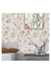 Papel De Parede Autocolante Rolo 0,58 X 5M Floral 97213736