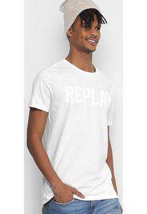 Camiseta Replay Geometric Masculina - Masculino