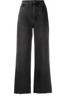 Boyish Jeans Calça Jeans Pantalona The Charley - Preto