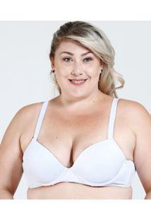 Sutiã Feminino Com Base Básico Plus Size Marisa