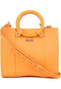 Bolsa Colcci Handbag Cairo Feminina - Feminino-Amarelo