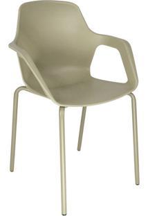 Cadeira De Cozinha Com Braço Beau Cappuccino
