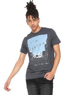 Camiseta Hering Estampada Grafite