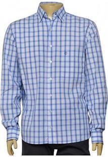 Camisa Masc Individual 302.416.370 Azul