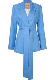 Maggie Marilyn Blazer 'Just Getting Started' - Azul