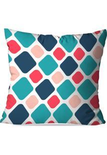 Capa De Almofada Avulsa Decorativa Geométrico Color 45X45Cm - Kanui
