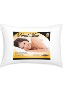 Travesseiro Percal 180 Fios Max Cor Branco - 43595 - Sun House