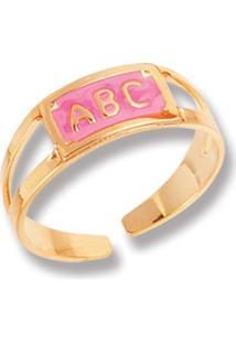 Anel Le Diamond Abc Rosa - Kanui
