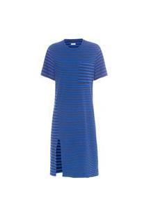 Vestido Rusty Mix Stripes - Preto