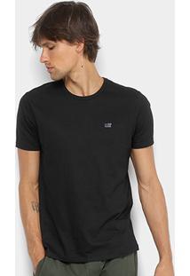 Camiseta Ellus 2Nd Floor Básica Logo Masculina - Masculino