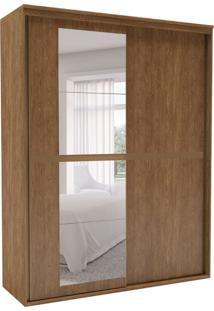 Guarda-Roupa Solteiro Sofisticato Com Espelho 2 Pt 3 Gv Álamo