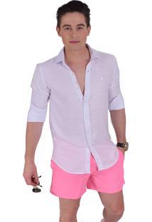 b317294bf8 ... Camisa Social Horus Slim Branca 100236 Branco
