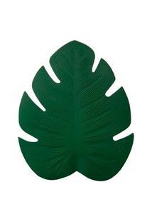 Jogo Americano Folha Costela De Adáo Verde